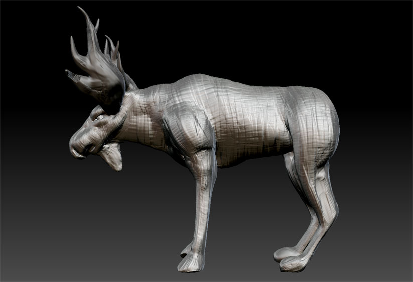Speed Sculpt Moose 3
